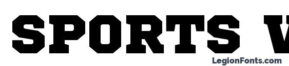 Sports World font, free Sports World font, preview Sports World font