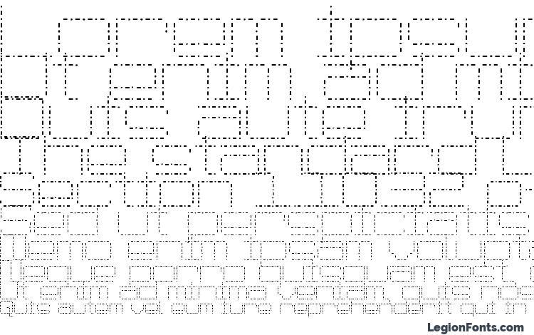 specimens Spot matrix font, sample Spot matrix font, an example of writing Spot matrix font, review Spot matrix font, preview Spot matrix font, Spot matrix font