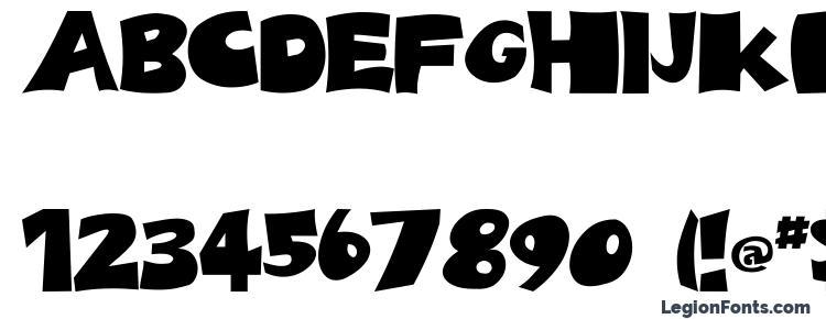 глифы шрифта Spotts, символы шрифта Spotts, символьная карта шрифта Spotts, предварительный просмотр шрифта Spotts, алфавит шрифта Spotts, шрифт Spotts