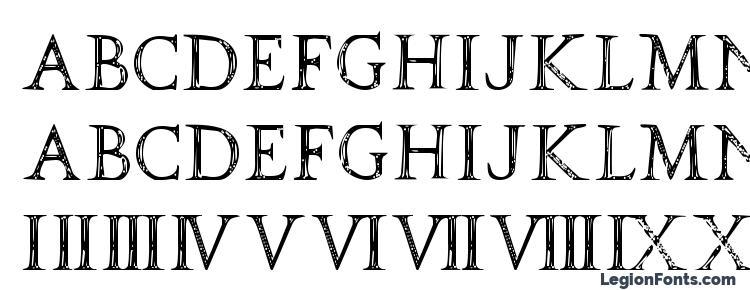 глифы шрифта SPQR, символы шрифта SPQR, символьная карта шрифта SPQR, предварительный просмотр шрифта SPQR, алфавит шрифта SPQR, шрифт SPQR