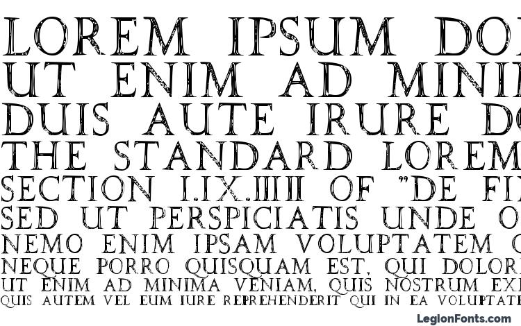 specimens SPQR font, sample SPQR font, an example of writing SPQR font, review SPQR font, preview SPQR font, SPQR font