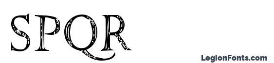 SPQR Font