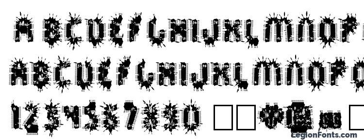 глифы шрифта Spräckaren, символы шрифта Spräckaren, символьная карта шрифта Spräckaren, предварительный просмотр шрифта Spräckaren, алфавит шрифта Spräckaren, шрифт Spräckaren