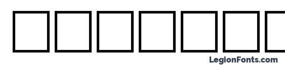 Sprague Font