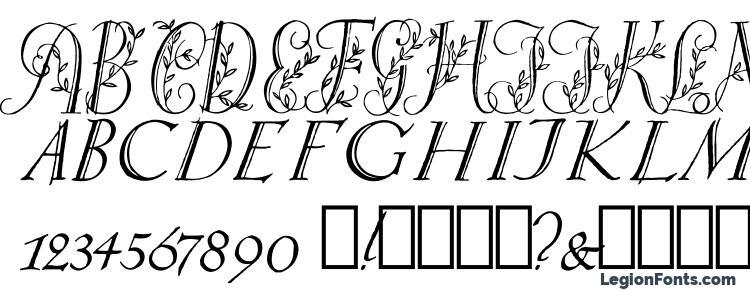 глифы шрифта Springtime Capitals, символы шрифта Springtime Capitals, символьная карта шрифта Springtime Capitals, предварительный просмотр шрифта Springtime Capitals, алфавит шрифта Springtime Capitals, шрифт Springtime Capitals