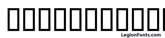 Шрифт SpruceByingtonSH