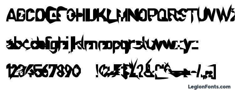 glyphs Sprutfest font, сharacters Sprutfest font, symbols Sprutfest font, character map Sprutfest font, preview Sprutfest font, abc Sprutfest font, Sprutfest font