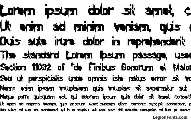 specimens Sprutfest font, sample Sprutfest font, an example of writing Sprutfest font, review Sprutfest font, preview Sprutfest font, Sprutfest font