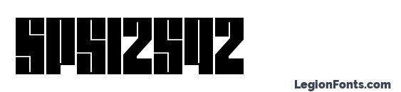 Шрифт Spsl2sq2