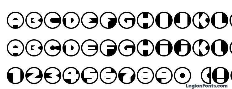 глифы шрифта Spslcirclesonec, символы шрифта Spslcirclesonec, символьная карта шрифта Spslcirclesonec, предварительный просмотр шрифта Spslcirclesonec, алфавит шрифта Spslcirclesonec, шрифт Spslcirclesonec
