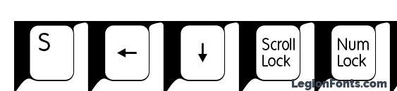 Spslkeys Font