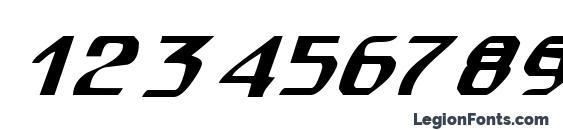 spuknik Font, Number Fonts