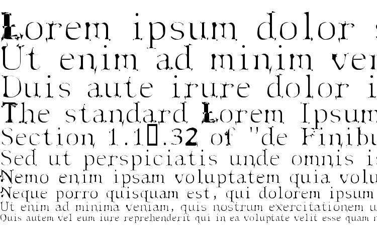 specimens Spyhink font, sample Spyhink font, an example of writing Spyhink font, review Spyhink font, preview Spyhink font, Spyhink font