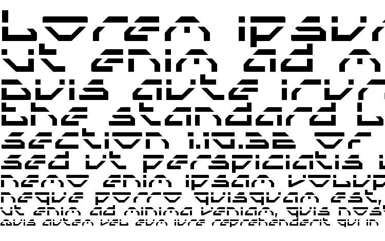 specimens Spylord Laser font, sample Spylord Laser font, an example of writing Spylord Laser font, review Spylord Laser font, preview Spylord Laser font, Spylord Laser font