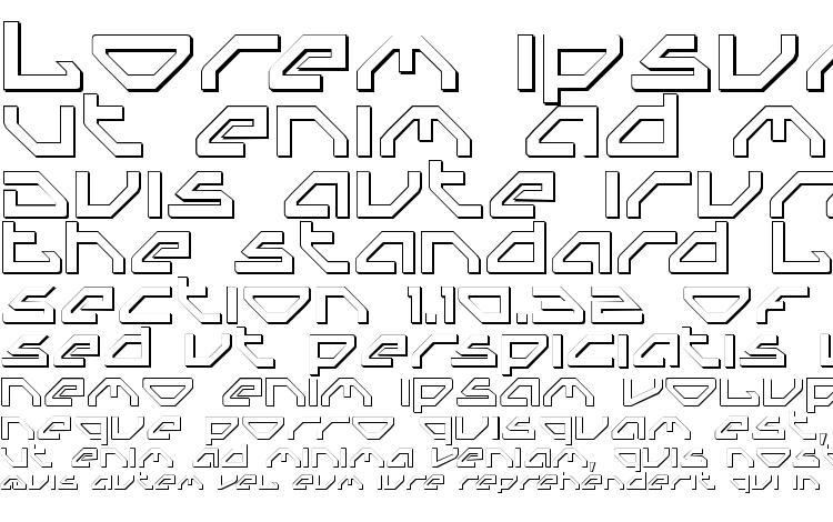 specimens Spylord Outline font, sample Spylord Outline font, an example of writing Spylord Outline font, review Spylord Outline font, preview Spylord Outline font, Spylord Outline font