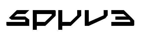 Шрифт Spyv3