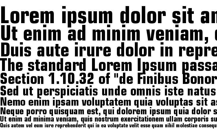 specimens Square 721 Bold Condensed BT font, sample Square 721 Bold Condensed BT font, an example of writing Square 721 Bold Condensed BT font, review Square 721 Bold Condensed BT font, preview Square 721 Bold Condensed BT font, Square 721 Bold Condensed BT font