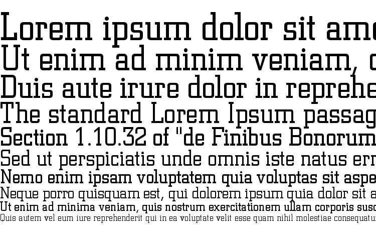 specimens Square Slabserif 711 Light BT font, sample Square Slabserif 711 Light BT font, an example of writing Square Slabserif 711 Light BT font, review Square Slabserif 711 Light BT font, preview Square Slabserif 711 Light BT font, Square Slabserif 711 Light BT font