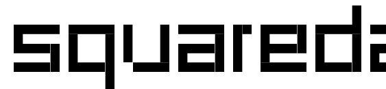 Шрифт Squaredance00