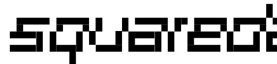 Шрифт Squaredance01