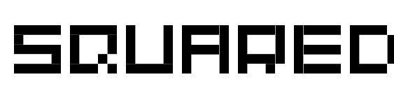 Шрифт Squaredance10