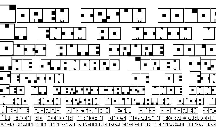 specimens Squaresville font, sample Squaresville font, an example of writing Squaresville font, review Squaresville font, preview Squaresville font, Squaresville font