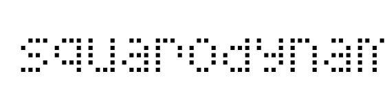 Шрифт Squarodynamic 01