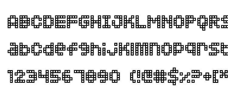 глифы шрифта Squarodynamic 02, символы шрифта Squarodynamic 02, символьная карта шрифта Squarodynamic 02, предварительный просмотр шрифта Squarodynamic 02, алфавит шрифта Squarodynamic 02, шрифт Squarodynamic 02