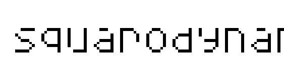 Шрифт Squarodynamic 05