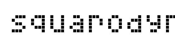 Шрифт Squarodynamic 06