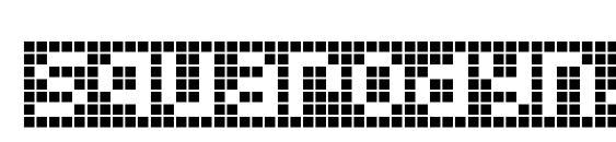 Шрифт Squarodynamic 10