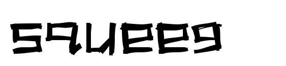 Squeeg Font