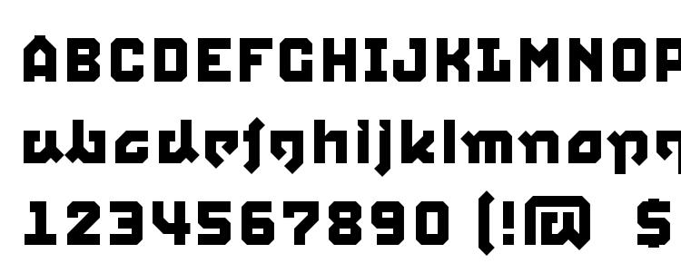глифы шрифта Squid, символы шрифта Squid, символьная карта шрифта Squid, предварительный просмотр шрифта Squid, алфавит шрифта Squid, шрифт Squid