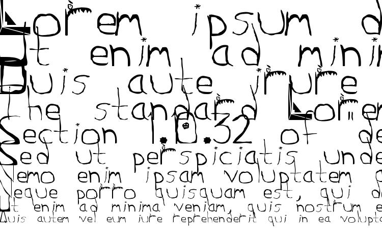 specimens Squidgle font, sample Squidgle font, an example of writing Squidgle font, review Squidgle font, preview Squidgle font, Squidgle font