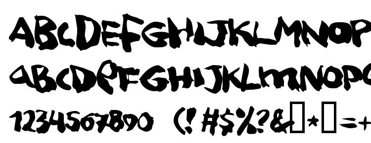 глифы шрифта Squitcher, символы шрифта Squitcher, символьная карта шрифта Squitcher, предварительный просмотр шрифта Squitcher, алфавит шрифта Squitcher, шрифт Squitcher
