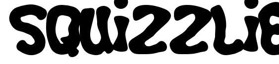 Шрифт Squizzlie