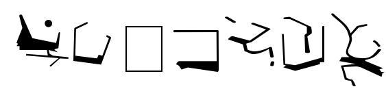 St bajoran ancient Font