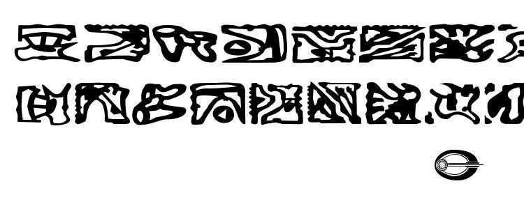 glyphs St bajoran ideogram font, сharacters St bajoran ideogram font, symbols St bajoran ideogram font, character map St bajoran ideogram font, preview St bajoran ideogram font, abc St bajoran ideogram font, St bajoran ideogram font