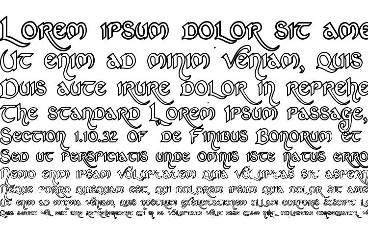 specimens St charles hollow font, sample St charles hollow font, an example of writing St charles hollow font, review St charles hollow font, preview St charles hollow font, St charles hollow font