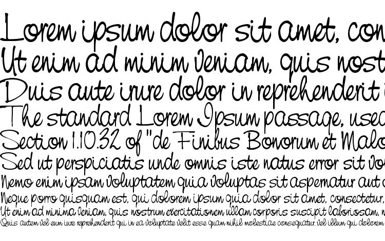 specimens ST Cursive Hand font, sample ST Cursive Hand font, an example of writing ST Cursive Hand font, review ST Cursive Hand font, preview ST Cursive Hand font, ST Cursive Hand font