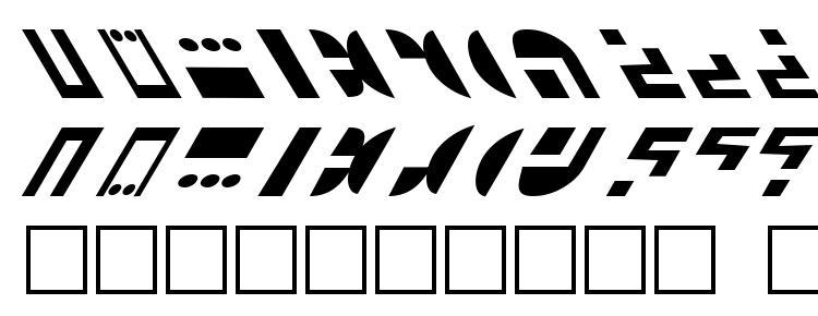 глифы шрифта St ferengi 1l, символы шрифта St ferengi 1l, символьная карта шрифта St ferengi 1l, предварительный просмотр шрифта St ferengi 1l, алфавит шрифта St ferengi 1l, шрифт St ferengi 1l
