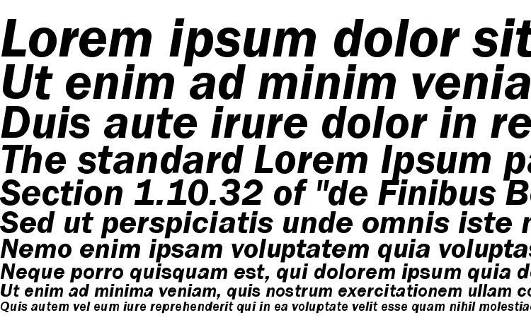specimens ST Gothic Bold Italic font, sample ST Gothic Bold Italic font, an example of writing ST Gothic Bold Italic font, review ST Gothic Bold Italic font, preview ST Gothic Bold Italic font, ST Gothic Bold Italic font