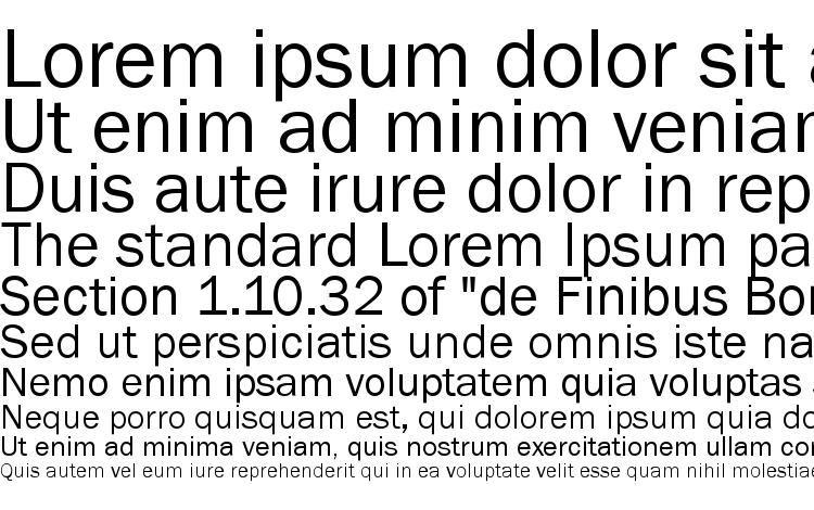 specimens ST Gothic font, sample ST Gothic font, an example of writing ST Gothic font, review ST Gothic font, preview ST Gothic font, ST Gothic font