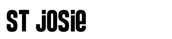 ST Josie Font