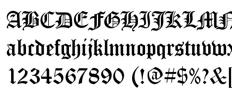 glyphs ST Old English font, сharacters ST Old English font, symbols ST Old English font, character map ST Old English font, preview ST Old English font, abc ST Old English font, ST Old English font