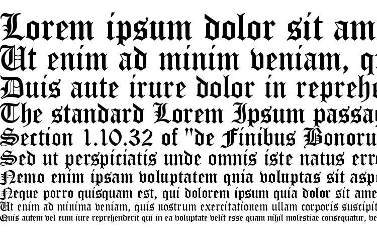 specimens ST Old English font, sample ST Old English font, an example of writing ST Old English font, review ST Old English font, preview ST Old English font, ST Old English font