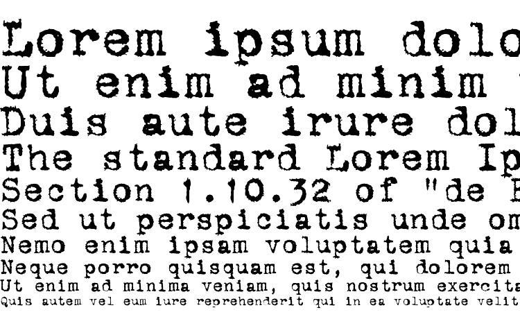 образцы шрифта ST Old Typewriter, образец шрифта ST Old Typewriter, пример написания шрифта ST Old Typewriter, просмотр шрифта ST Old Typewriter, предосмотр шрифта ST Old Typewriter, шрифт ST Old Typewriter