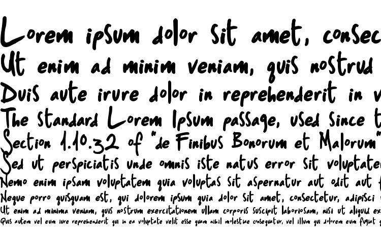 specimens ST Sharpie Print font, sample ST Sharpie Print font, an example of writing ST Sharpie Print font, review ST Sharpie Print font, preview ST Sharpie Print font, ST Sharpie Print font