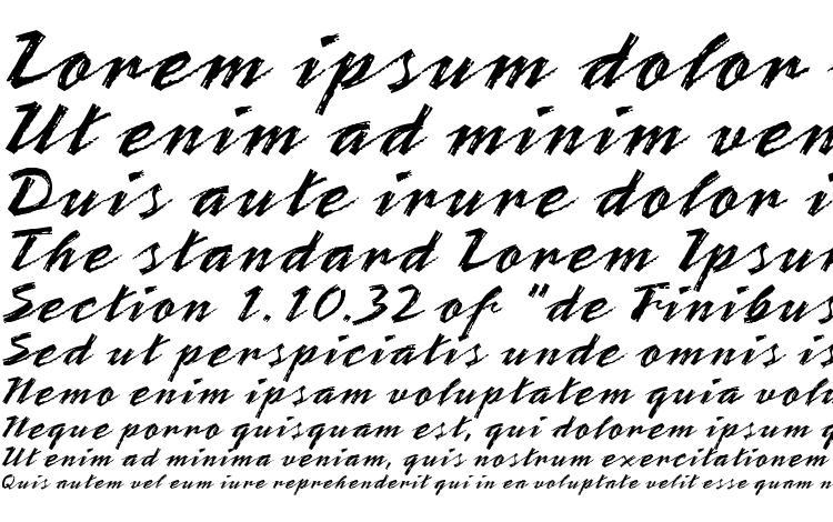 specimens ST Teresita Script font, sample ST Teresita Script font, an example of writing ST Teresita Script font, review ST Teresita Script font, preview ST Teresita Script font, ST Teresita Script font