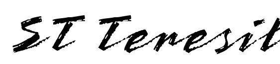 Шрифт ST Teresita Script